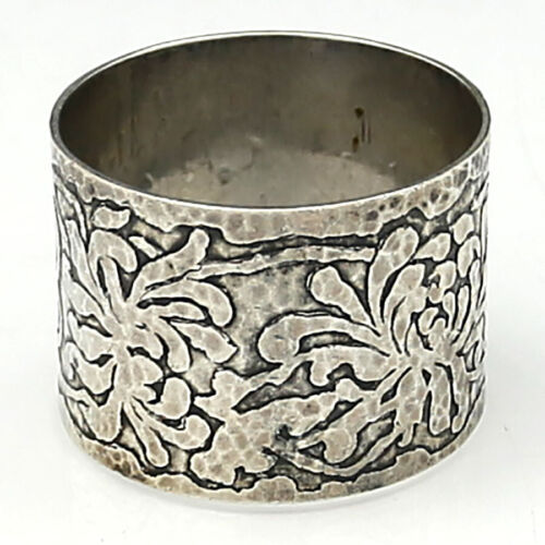 American Arts & Crafts Sterling NAPKIN RING MARSHALL FIELDS COLONIAL
