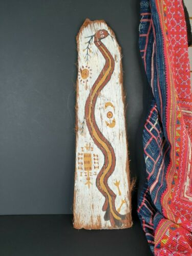 Old Ngalyod Bark Painting …beautiful collection item