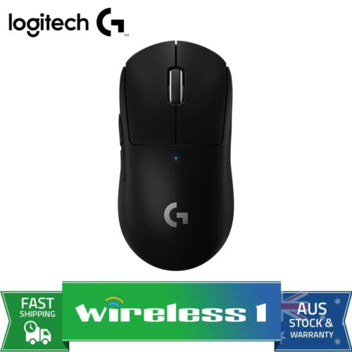 Logitech G PRO X SUPERLIGHT Wireless Gaming Mouse - Black