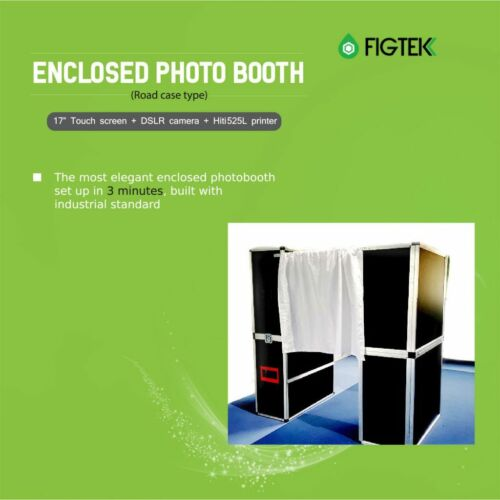 Enclosed Photo Booth (Road Case Type) | Figtek Entertainment