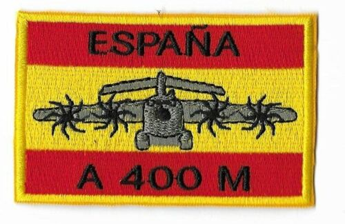 SPAIN EJERCITO DEL AIRE PATCH A400M ZARAGOZA AB ALA 31 SPANISH FLAGParches - 4725
