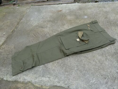 French HBT Military Army M47 Field Trousers Pants Size 27 MINTOriginal Period Items - 586
