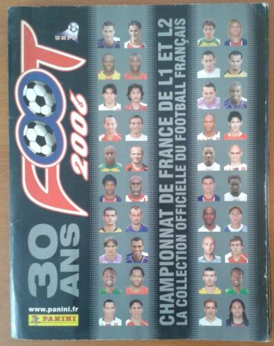 Album Panini football 2006 : 30 ans completStickers, albums, sets - 141755