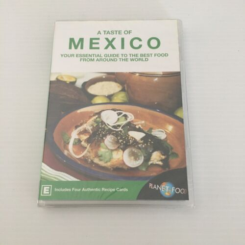 A Taste of Mexico Cooking DVD New & Sealed FREE TRACKED POST