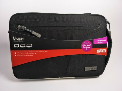 STM BAG SLEEVE FOR MICROSOFT SURFACE 3 BLAZER STRAP NEW + Free Shipping