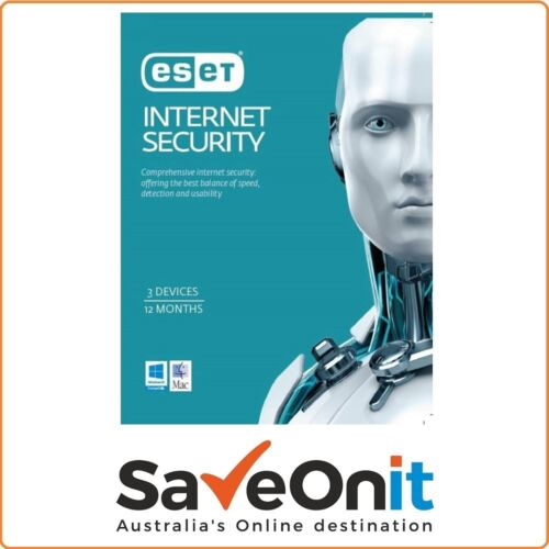 Eset Internet Security 3 Device PC 1 year License key 2021 Email