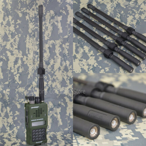 Short Foldable Blade Antenna For TRIPRC152 PRC148 Tactical THALES HARRIS RadioReproductions - 156470