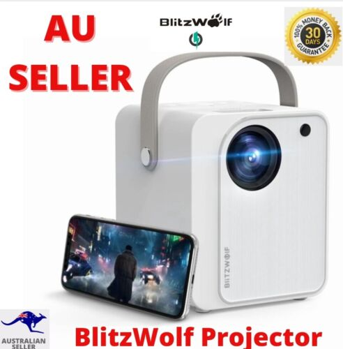 BlitzWolf BW-VP7 Mini Projector, Screen Mirroring for Smartphones