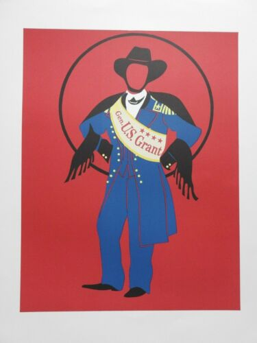 """Robert Indiana, """"Mother of Us All"""" Lithograph, General US Grant"""