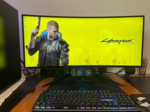 Gaming Monitor Dell Alienware 35'' IPS Curved