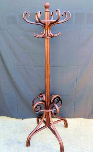 French Bentwood Thonet Style Hat and Coat Rack