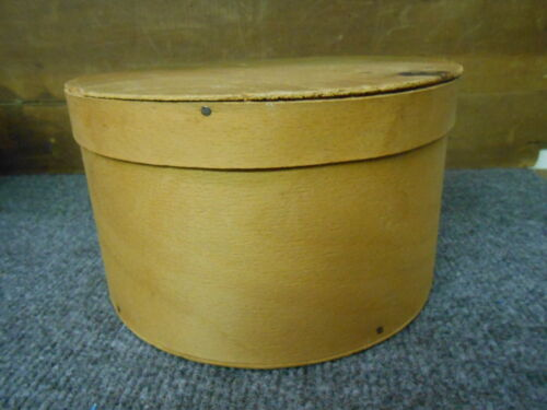ANTIQUE PRIMITIVE WOOD PANTRY BOX   7.5""