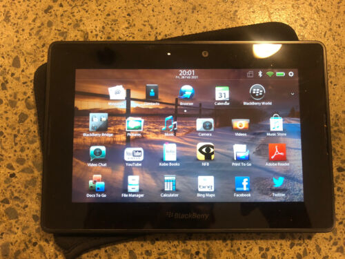 BlackBerry PlayBook 16GB, Wi-Fi, 7in - Black Tablet Perfect Condition