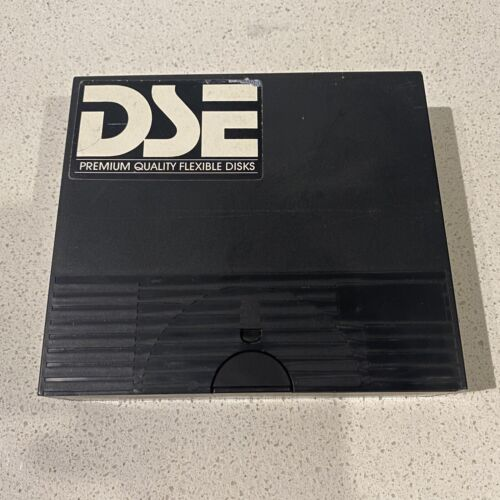 """10 x 5.25""""  Single Sided Double Density SS/DD Floppy Disks with case"""