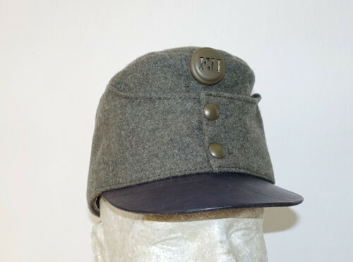 AUSTRIAN AUSTRO HUNGARIAN ARMY WW1 REPRO FIELD GREY CAP HAT Sz61 (7 5/8 US) 1916Other WWI Reproductions - 156414