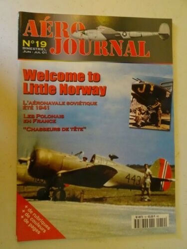 revue aviation - aéro journal n 19 welcome to little norway