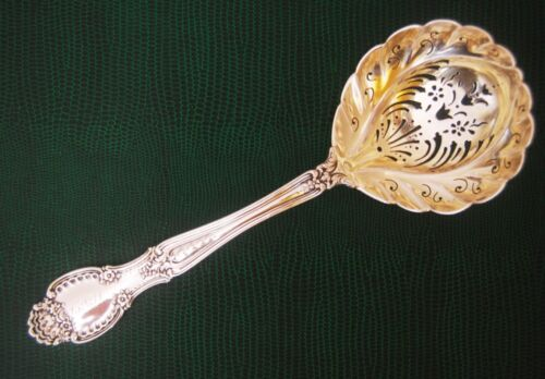 Antique 1892 TIFFANY CO. Sterling Silver RICHELIEU Large Sugar Sifter Spoon