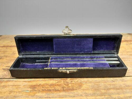 Antique Victorian Ophthalmic Surgical Kit SMALL