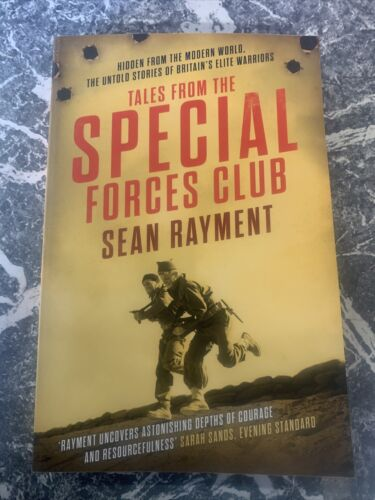 VINTAGE BOOK WAR WW2 PAPERBACK TALES FROM THE SPECIAL FORCES CLUB RAYMENT 41939 - 1945 (WWII) - 13977