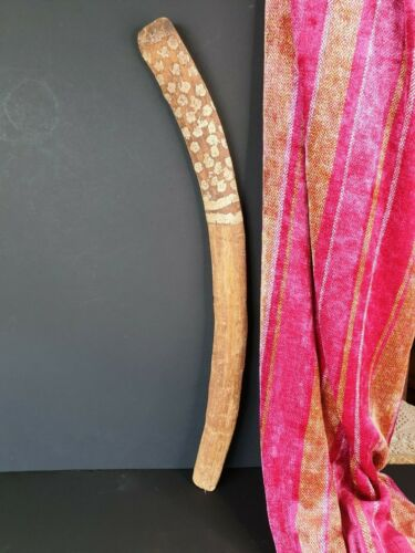 Old Central Australian Aboriginal Boomerang …beautiful collection and display pi