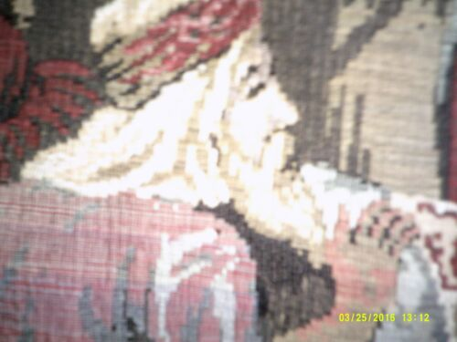 tapestry large 38x50 inches eastern motiff in perfect condition