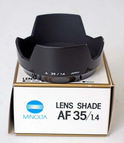 Minolta AF 35 mm f/1.4 lens shade! Absolutely new in box!