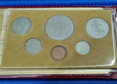 1976 Singapore Uncirculated Coin Set