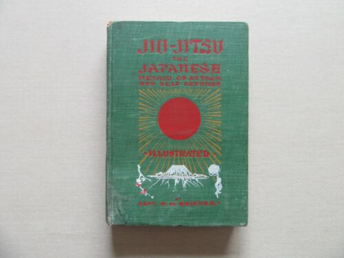 JIU-JITSU by Capt. Harry H. Skinner & Poses by Kuwashima - Japan Pub, 1904, Rare
