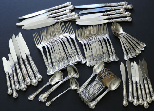 Gorham Sterling Silver Chantilly 81 Pieces