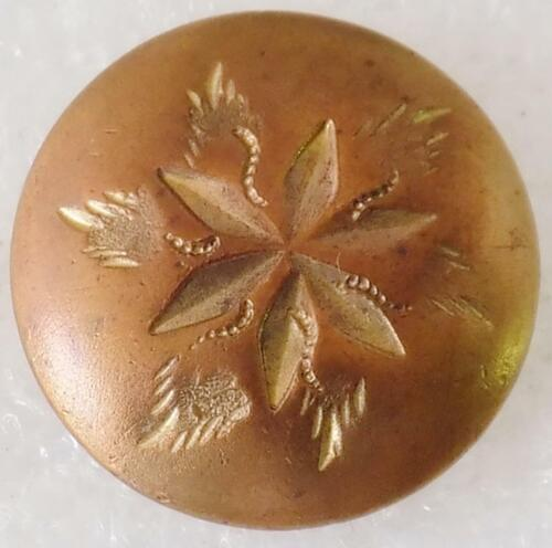 Antique Golden Age Button One Piece Wadhams Webster Co. Backmark 1836-46
