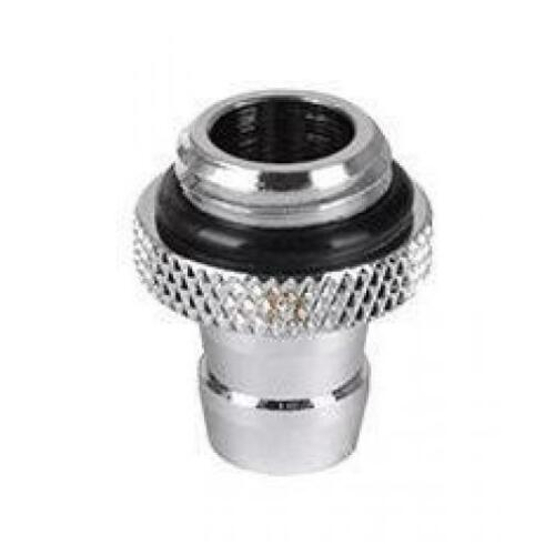 """Thermaltake Pacific 3/8"""" ID Barbs - Chrome Fitting"""
