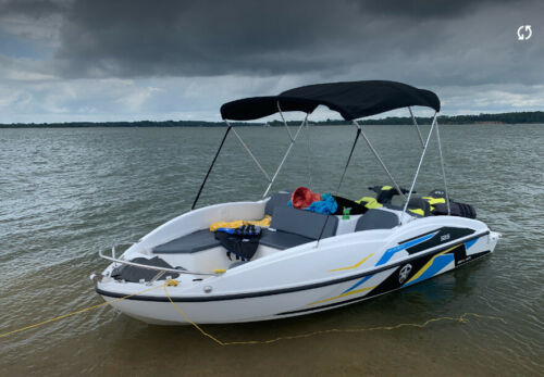 2020 Sealver Wake Boat 525 (with trailer) <br/> Amazing jet ski powered boat!