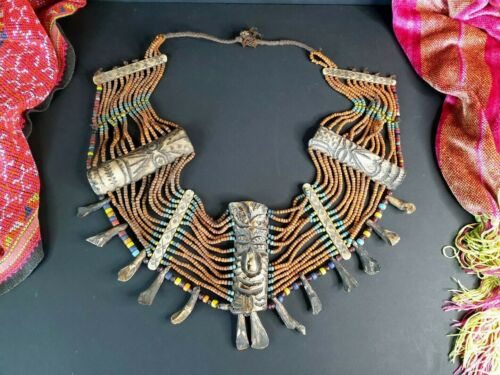 Old Naga Tribal Necklace from Nagaland  …beautiful Collection and display piece
