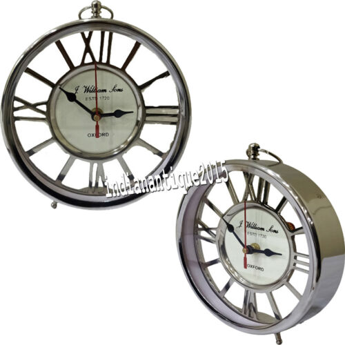 Vintage Style Decorative Collectible Table Clock Designer Gift