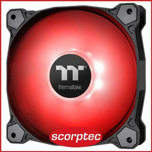 Thermaltake Pure A12 Red LED Radiator Fan, 120mm