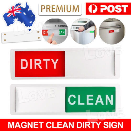 1x Indicator Strong Magnet Tells Magnet Creative Dishwasher Sign Clean Dirty