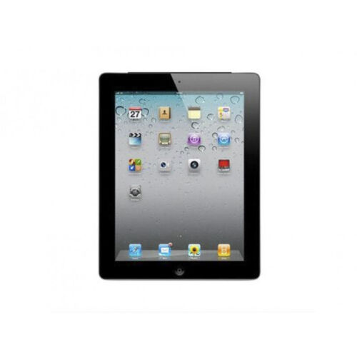 Refurbished ipad2 16g wifi only space grey with case and charging cable