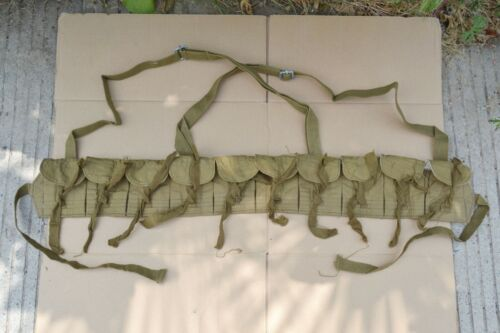 Chinese Mosin Nagant Type 53 Carbine Chest Rig Ammo Pouch Bandolier Stamp USEDOriginal Period Items - 13982
