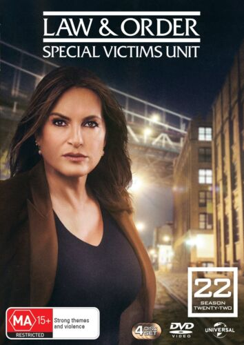 Law and Order Special Victims Unit Season 22 Box Set DVD Reg RELEASED 22/09/2021