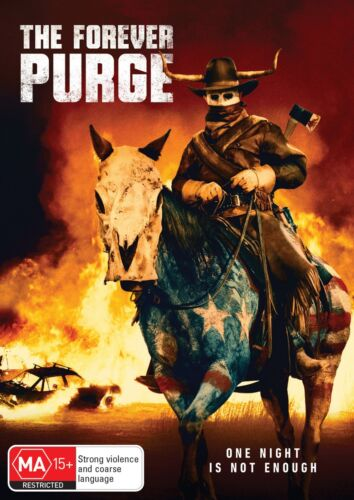 The Forever Purge DVD Region 4 NEW RELEASED 22/09/2021 // PRE-ORDER