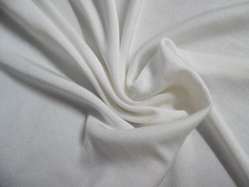 """100% SILK JERSEY FOR MAKING ANTIQUE DOLL STOCKINGS~9""""x18""""~OFF WHITE"""
