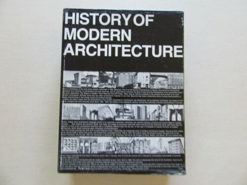 History of Modern Architecture: Vols. 1 & 2 with Slipcase - MIT Press, 1971