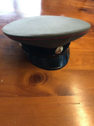 Soviet Officers Hat Tank Armour ? Fantastic ConditionOther Eras, Wars - 135
