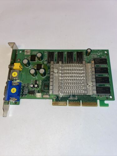 Sparkle SP7300M4T/128mb DDR MX440-8X-TV VGA / Video Out Graphics Card Untested