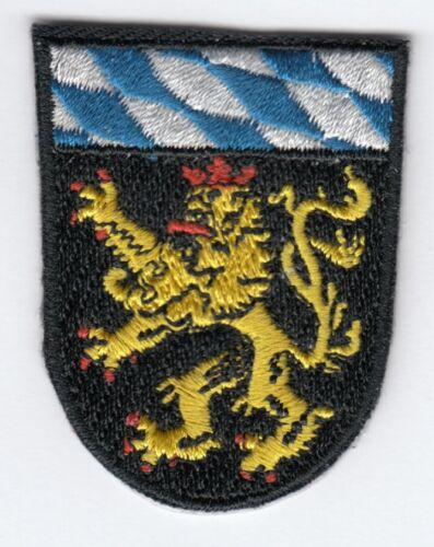 Oberbayern Armoiries Patch Aufbügler, Patch,Allemagne,Bavière