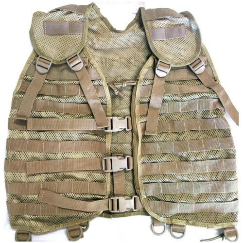 TAS PALS MOLLE Harness Khaki Military 900D Nylon Webbing And BucklesModern, Current - 36066