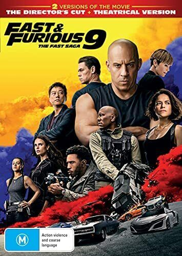 Fast & and Furious 9 DVD, NEW SEALED AUSTRALIAN RELEASE REGION 4 lot 741