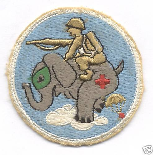 43rd TROOP CARRIER SQUADRON  patchOriginal Period Items - 13982