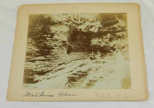 c.1900 Mounted Photo // WATKINS GLEN, NY // Photo #2