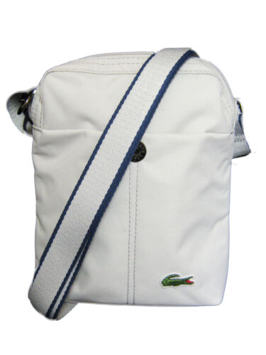 New Authentic LACOSTE Cross-over Unisex Shoulder Bags New City Casual 2 Grey